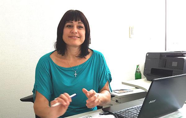 Gabriele Atug-Schmitz, Flüchtlingskoordinatorin des Erzbistums Köln für den Rheinisch-Bergischen Kreis