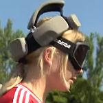Neue Sporterfahrung: Blind auf den Fußballplatz