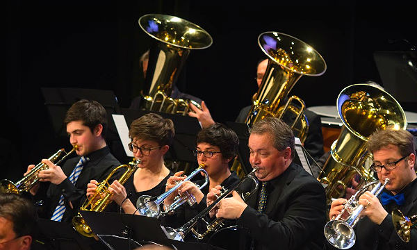Sommerkonzert mit Orchester und Big Band der Rheinisch Bergische Bläserphilharmonie Bensberg, am Sonntag in der Steinbreche