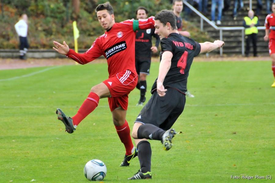 Rachid Eckert im SV 09-Trikot. Der Offensiv-Spieler kehrt zurück