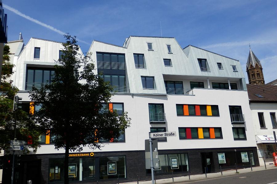 So sieht das gleiche Gebäude heute aus