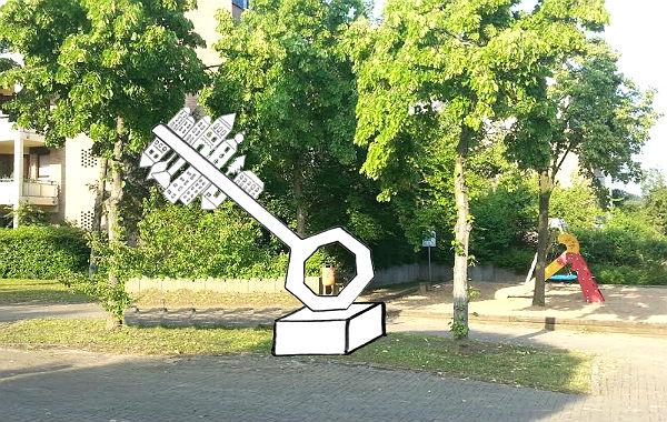 So soll die Skultur auf dem Ganey-Tikva-Platz in Hebborn aussehen