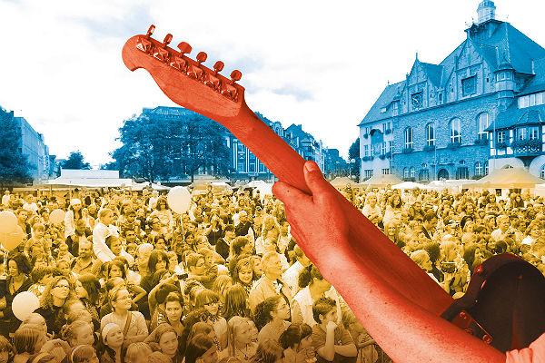 Stadtfest Titelbild Gitarre 600