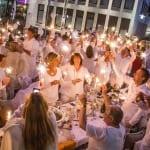 Schicker Flashmob: White Dinner kommt nach Gladbach