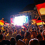 Public Viewing: Forumpark, Playa de Bensberg und …