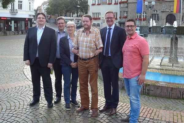 Christian Buchen, Lennart Höring, Elke Lehnert, Peter Mömkes, Michael Metten, Robert Kraus, CDU Fraktion Bergisch Gladbach