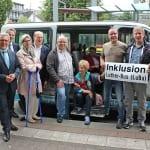 """""""Luther-Bus"""" verbindet S-Bahnhof und Markt"""