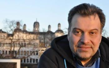 Tomás M. Santillám, fraktionsloses Ratsmitglied DIE LINKE. Bergisch Gladbach