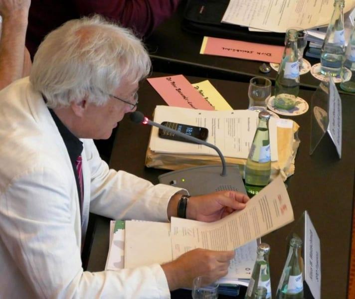 Klaus Waldschmidt, Fraktionschef der SPD. Foto: Helga Niekammer