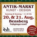 Antik-, Kunst- & Designmarkt auf der Schloßstraße