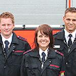 GL bekommt zum ersten Mal eine Feuerwehrfrau