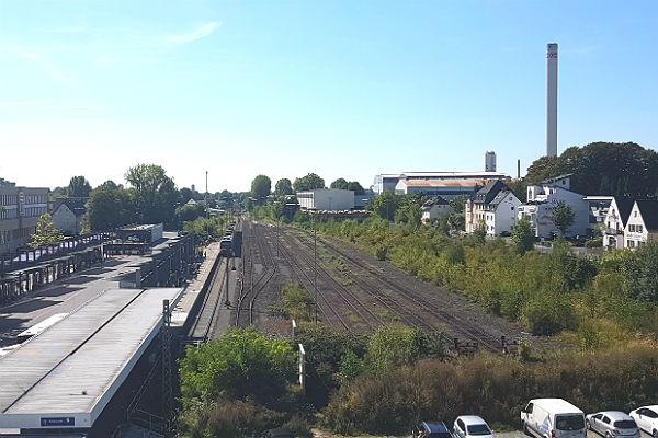 Sechs Gleise - aber nur eins ist für die S-Bahn nutzbar