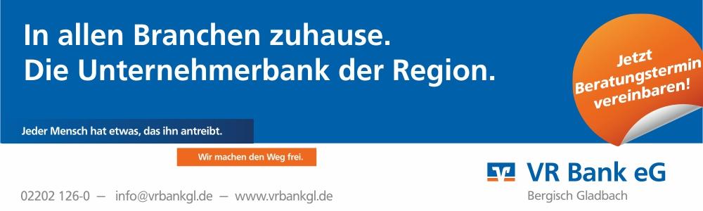 VR Bank Bergisch Gladbach: Die Unternehmerbank in der Region