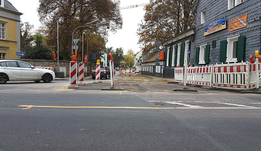 Die Baustelle vor dem Waatsack ist bereits geschlossen, muss nur noch abgeräumt werden.
