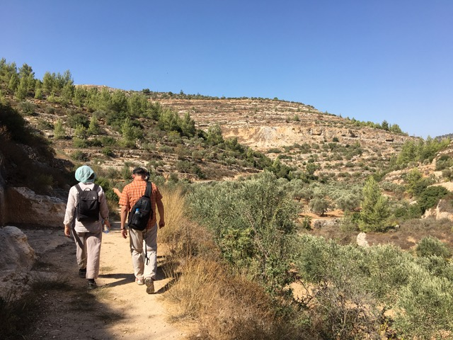 Wanderung durch das Wadi Makhrour