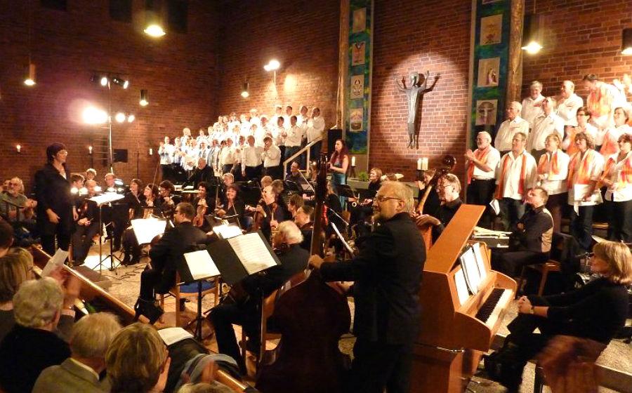 Die Kirche zum Frieden Gottes ist das Zentrum der Heidkamper Kulturtage