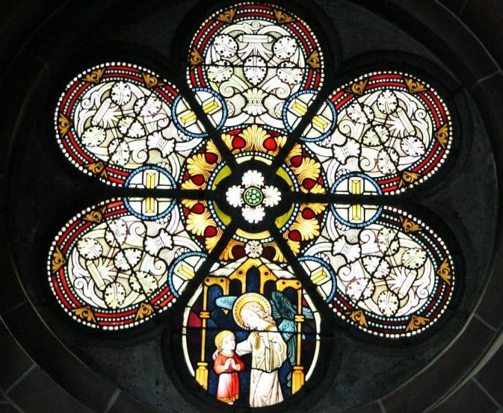 Fenster in St. Laurentius. Foto: Meike Ditscheid