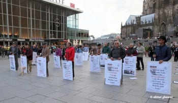 Kundgebung, 08.102016 zum Welttag gegen die Todesstrafe