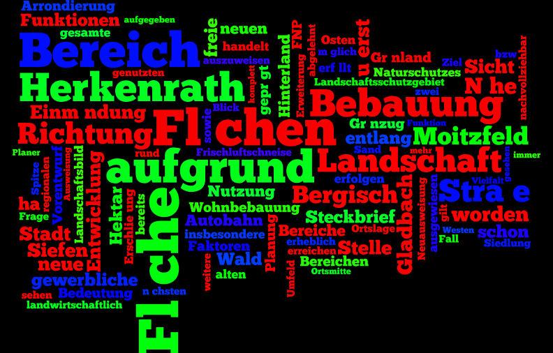 6825 Wörter hat dieser Text. Die am häufigsten gebrauchten 150 sehen Sie hier.