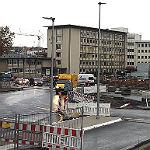 Regen verhindert Umbau der Baustelle Schnabelsmühle