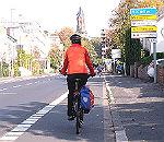 Wohin mit den Radfahrern an der Kölner Straße?