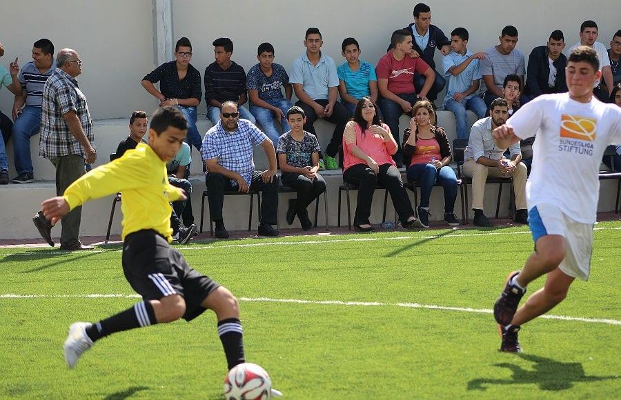 Die Entscheidung fällt auf dem Platz: Schüler der Hope School zeigen ihr Ball-Talent