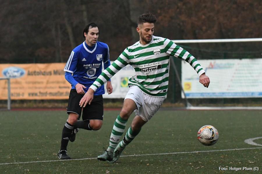 Thomas Mikhail gelangen zwei Tore für den FC Bensberg
