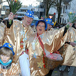 Festkomitee sammelt in Bensberg für den Karnevalszug