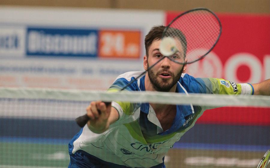 Richard Dohmke spielt für den TV Refrath in der Badminton Bundesliga