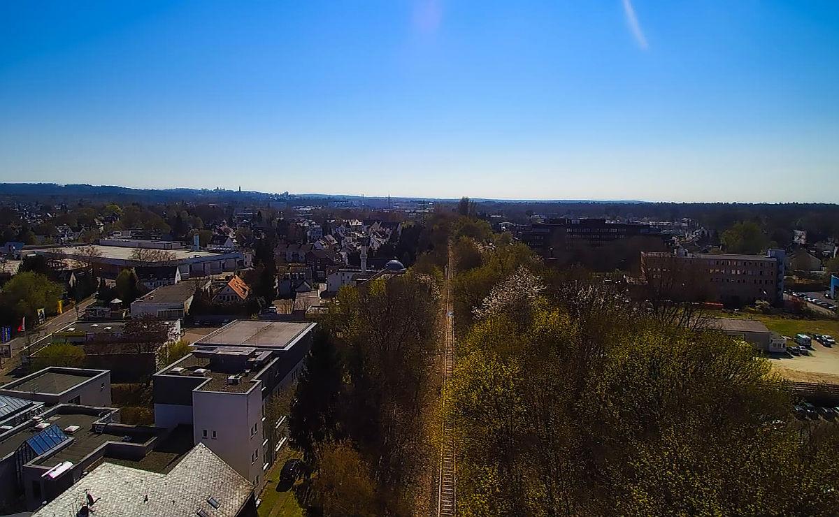 Die Bahndammtrasse führt aus der Innenstadt durch Refrath nach Bensberg. Foto: Bergisch Schön