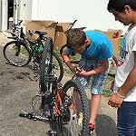 Radwerkstatt Paffrath: Hilfe zur Selbsthilfe für Flüchtlinge