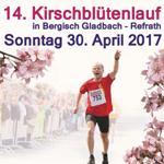 Beim Kirschblütenlauf in den Mai hinein feiern