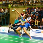 Deutschlands beste Badminton-Teams spielen in Refrath