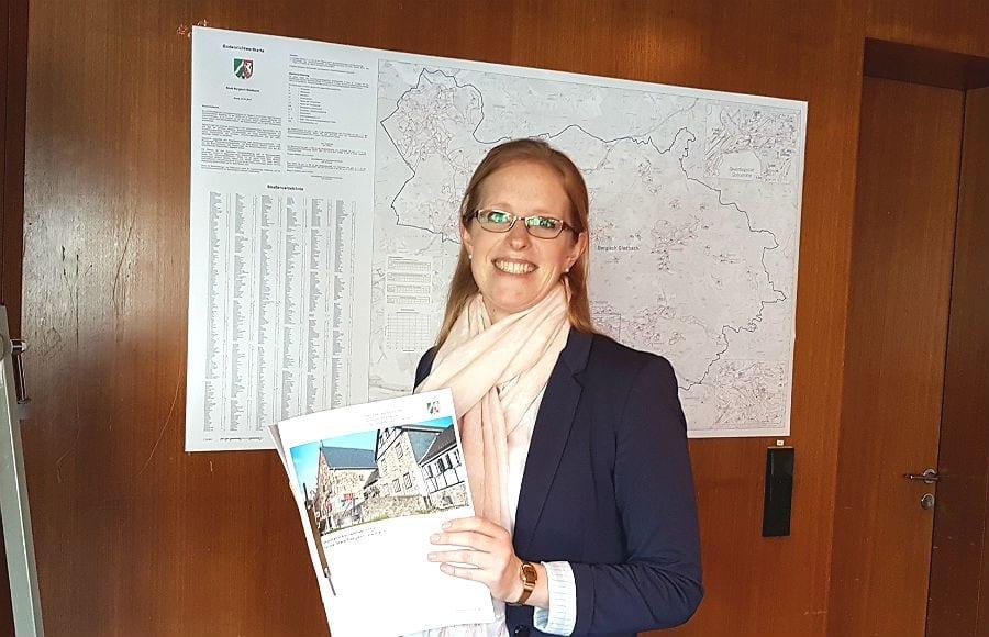 Julia Fritsch, Abteilungsleiterin des städtischen Geoservices und Vorsitzende des Gutachterausschusses