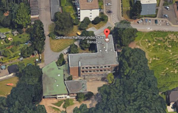 Die Gemeinschaftsgrundschule Bensberg an der Karl-Philipp-Straße. Foto: Sreenshot Google Maps
