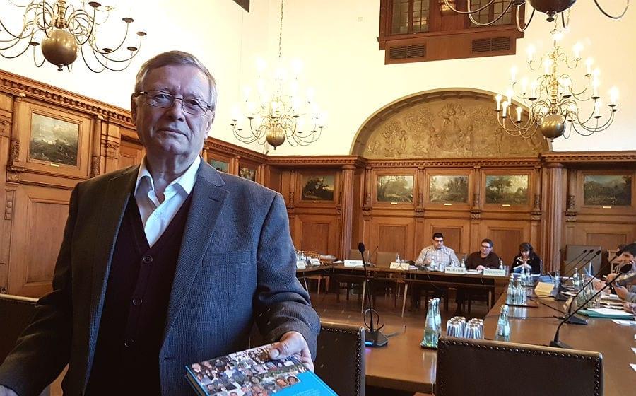 Klaus Farber verabschiedet sich vom Integrationsrat