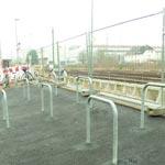 Der Umbau am S-Bahngleis geht voran