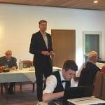 Flügge äußert sich im Tannenhof zu FNP und Bahndamm