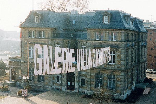 Die Eröffnung 1992, damals noch als Galerie Villa Zanders