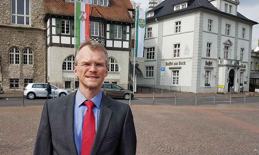 Frank Stein, künftiger Kämmerer in Bergisch Gladbach, bislang Leverkusen