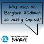 """""""Was mich an Bergisch Gladbach so richtig anpisst"""""""