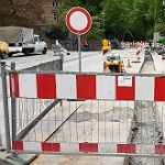 Hauptstraße am Forum wird kurzzeitig abgesperrt