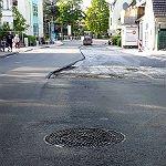 Odenthaler Straße: Letzte Löcher geschlossen