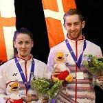 TV Refrath erringt bei der Badminton EM eine Medaille