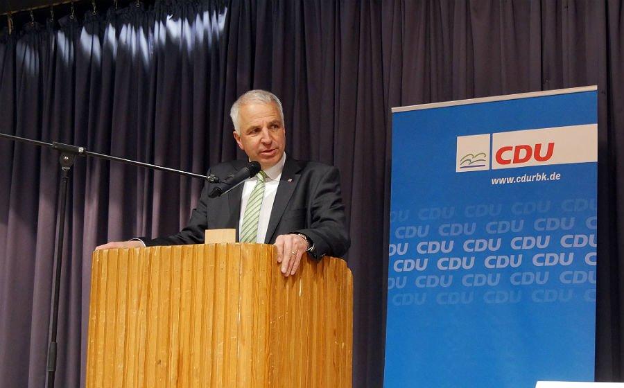 Rainer Deppe, Kreisvorsitzender der CDU und Landtagsabgeordneter