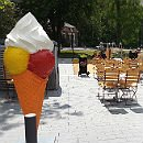 Frühlingsgefühle im Forum-Park