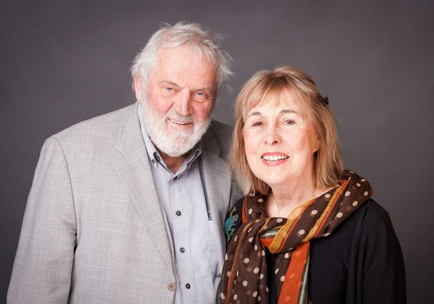 Roswitha und Erich Bethe werden Ehrenbürger der Stadt Bergisch Gladbach. Foto: Eric Mammen