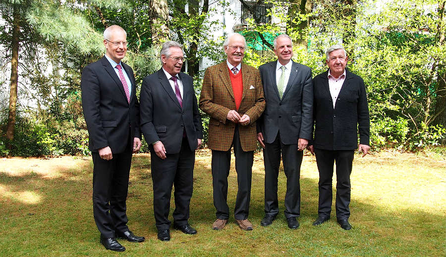Hermann-Josef Tebroke, Holger Müller, Wulff, Rainer Deppe, Manfred Klein