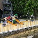 Der Forumpark wird mit einem Spielplatzfest eröffnet