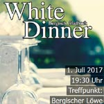 Das White Dinner GL erlebt eine Neuauflage